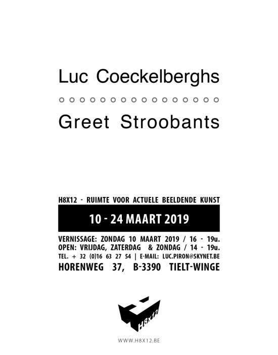 Luc Coeckelberghs &  Greet Stroobants